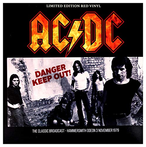 AC/DC - Danger - Keep Out!: Limited Edition on Red Vinyl
