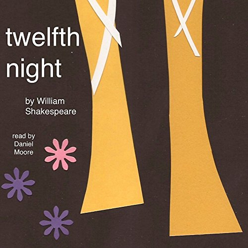 William Shakespeare's Twelfth Night audiobook cover art