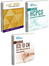 AMA CPT Book, HCPCS Book, ICD-10 Code Book - 2020 Physician Bundle 1
