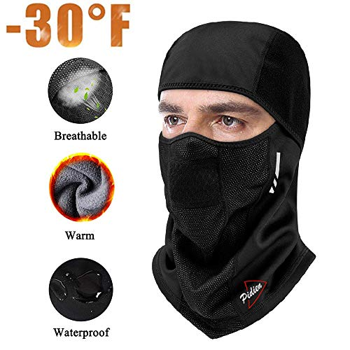 Balaclava Ski Mask Windproof Mask Bike Face Mask Bicycle Balaclavas Motorcycle Cycling Outdoors in Winter Neck Warmer Multifunctional Sports Cold Weather Gear for Men Women