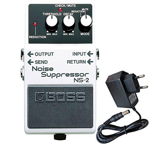 Boss NS-2 Noise Suppressor + keepdrum Netzteil 9V