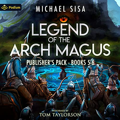 Legend of the Arch Magus: Publisher's Pack 3 cover art