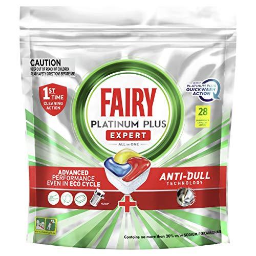 Fairy Platinum Plus Dishwasher Tablets, 28 Tablets