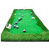 COUYY Golf Interior Putting Green Set Mini Practice Manta Simulación Artificial Putting Green Golf Supplies,0.75 * 3M