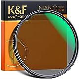 K&F Concept Filtro Polarizador Nano X CPL Circular Slim 52mm Filter CPL para Objetivo 52mm