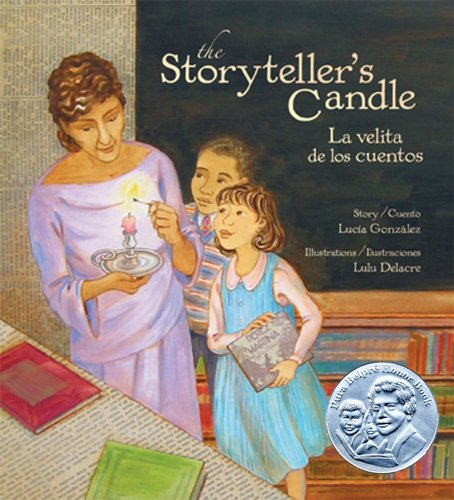 The Storyteller's Candle / La Velita De Los Cuentos (English and Spanish Edition)