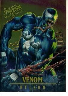 1995 Fleer Ultra Marvel Spider-Man Masterpieces Card #7 : Venom