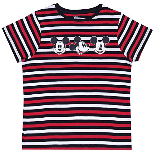 Zwarte, gestreepte blouse Mickey Mouse Disney