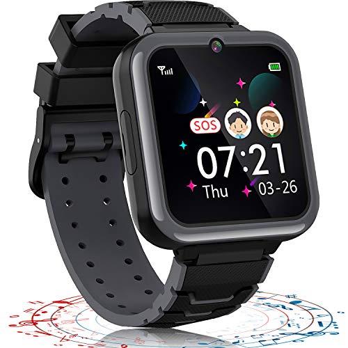 Smartwatch Bambino, Orologio Intelligente Bambini con 7 Giochi Telefono Musica SOS Sveglia alta definizione Fotocamera Torcia Record, Kid Smartwatch Regalo Ragazzo Ragazza(Include 1GB Micro SD Card)