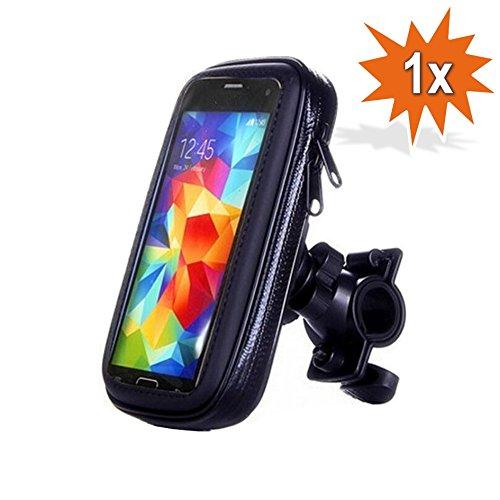 Do!LED 360° universele smartphone mobiele telefoon navigatiehouder houder houder met waterdichte beschermhoes tas fiets motor mountainbike stuur