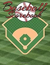 Baseball Scorebook: The Ultimate Record Keeping Book for Baseball Teams and Fans