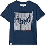 KAPORAL ASTOP T- T-Shirt, Bleu (Blue Us), Taille Fabricant:16 Ans Garçon
