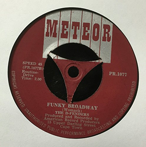 "The D-Fenders - Gin And Lime / Funky Broadway (UK Import) - 7"" Vinyl 45 Record"