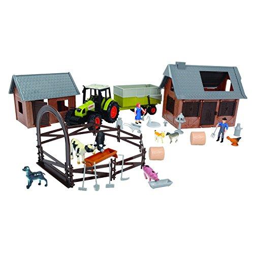 Dickie Toys - 203739001 - Ferme Kit - CLAAS - 72 Pièces