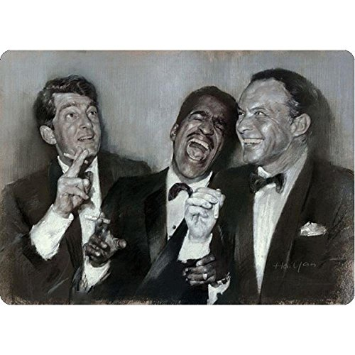 Signs 4 Fun S4S4115 Rat Pack Portrait Small Parking Sign