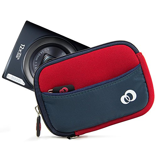 Duo-Shade Camera Sleeve Glove Protector Case for Canon PowerShot A1300, A1400, A2200, A2300, A2400 is, A2500, A2600, A3000 is, A3100 is, A3200 is, A3300 is, A3400 is, A3500 is, A4000 is, A490, A495