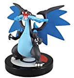 BANDAI Pokemon XY 1/40 Scale Mini Figure Aprox 2.5' Mega Charizard X Figure