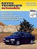 E.T.A.I - Revue Technique Automobile 726.2 - PEUGEOT 405 - 1987 à 1996