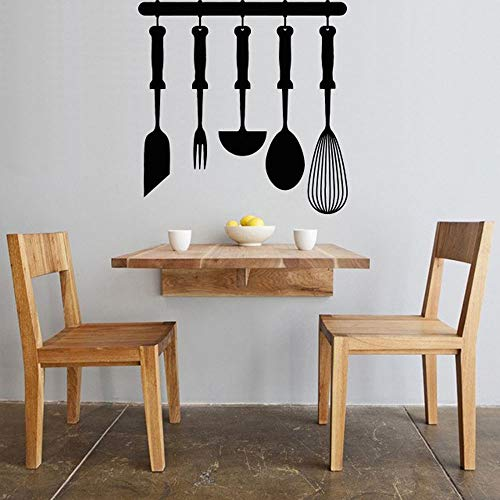 yaonuli muursticker decoratie vinyl sticker koken avondeten wandtattoo patroon afneembaar waterdicht