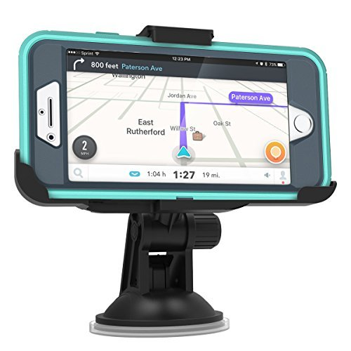 """Encased Car Mount for iPhone 7 Plus & iPhone 8 Plus (5.5"""") OtterBox Defender Case (Compatible with Otterbox Defender case ONLY)"""