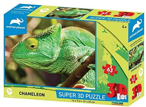 Prime 3D 10657 3D-Puzzle Chamäleon