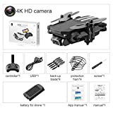 Lucky-all star Foldable Mini RC Drone, with 0.3 MP / 5.0 / 4K HD Camera, 2.4 GHz Anti-Interference Technology, Drone in Altitude Hold Mode