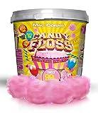 MacCorns Pink Candy Floss - 250g - 10ltr Super Size Bucket - Ready Made