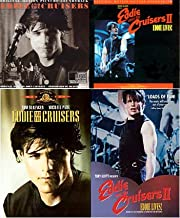 Eddie and the Cruisers , Eddie and the Cruisers 2 - Eddie Lives! and Both Original Motion Picture SoundTracks (4 Pack 2 DVD's and 2 CD's)
