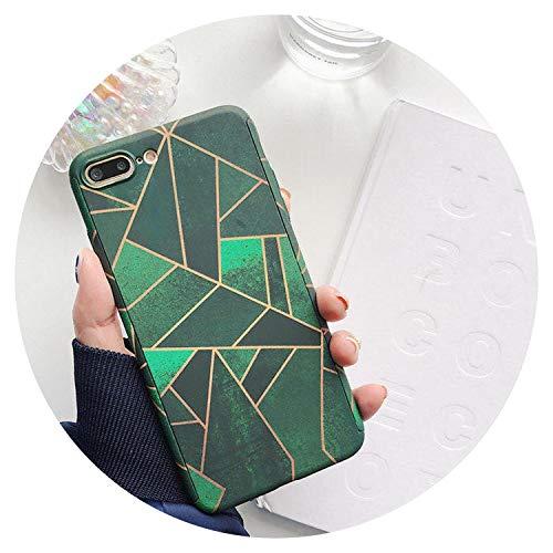 Fashion-Lover - Carcasa de plástico duro para iPhone X 10, 6, 6S, 7, 8 Plus, 5, 5S, SE, 17, iPhone 7, iPhone 7