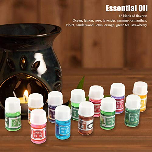 Muchos sabores de aceite esencial de fragancia natural de 3 ml para lámpara difusora de aroma 36 piezas/juego