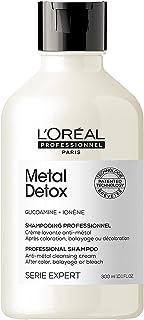 L'Oréal Professionnel Paris | Shampoo professionale per capelli colorati Metal Detox Serie Expert, Formula anti-metallo, 3...