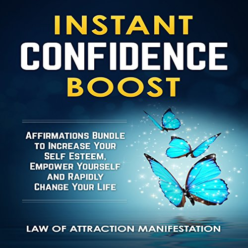 Instant Confidence Boost audiobook cover art
