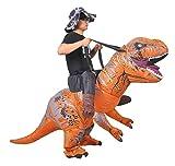 JASHKE Monter sur Le Costume Gonflable T-Rex