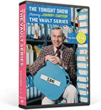 The Tonight Show Vault Series Collection Volume 1-6 starring Johnny Carson
