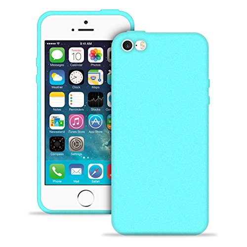 Siliconen hoesje voor Apple iPhone 5 / 5s / SE | Turqoise Soft Cover