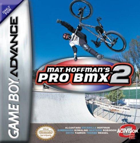 GAME BOY ADVANCE NINTENDO - MAT HOFFMAN'S PRO BMX 2