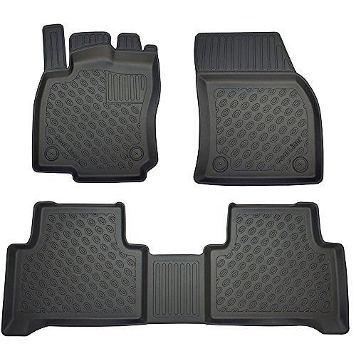 OPPL Fussraumschalen Fussmatten passend für VW Touran II 5T V/5 ab 2015 5/7-Sitzer, 3. Reihe Nicht enthalten