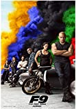 Póster Fast and Furious 9 Movie 15x23' (38 x 58 cm) (380 x 580 mm)