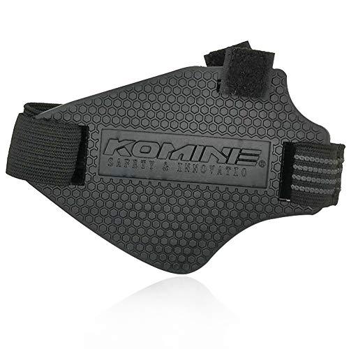 Moto Botas Protector CHEPL Protector de Zapatos de Moto Equipo de Protección Ajustable Antideslizante Resistente al Desgaste (Negro)