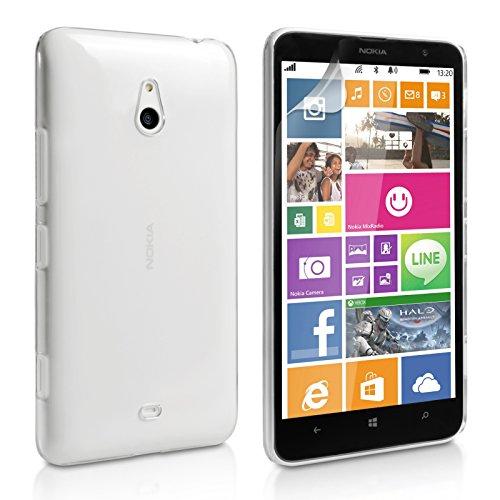 2010KHARDIO AE Crystal Clear Transparent Hard Back Case Cover for Nokia Lumia 1320