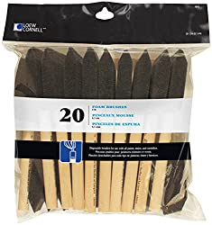 package of foam paint brushes