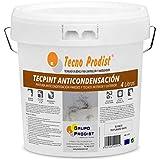 TECPINT ANTICONDENSACIÓN de Tecno Prodist - (4 Litros) - Pintura Anti-condensación y Anti-moho al Agua para Interior y Exterior - Paredes y Techos -gran cubrición - Fácil Aplicación - (BLANCO)