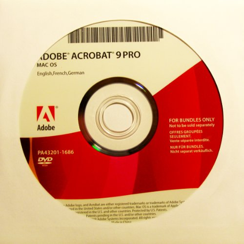 Adobe Acrobat 9 Pro - multilingual - OEM - MAC - (DVD-ROM)