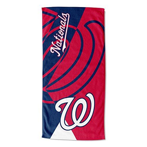"MLB Washington Nationals ""Puzzle"" Beach Towel, 34"" x 72"""