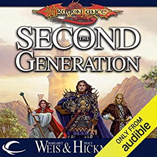 The Second Generation audiobook cover art