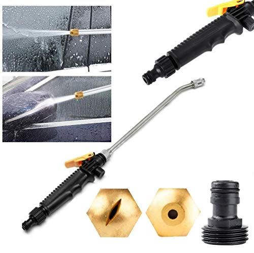MSYR 2-in-1 High Pressure Washer, Pro High Pressure Power Washer Slip-Resistant Spray Nozzle with New Water Hose Wand, All Pressure Power Nozzle Perfect for Washing Cars,Patio