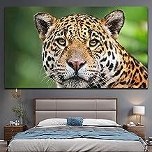 KWzEQ Decoración de la Sala Decorada con Pintura de Lienzo de Tigre Libre Natural, pósters e Impresiones de Animales Salvajes,Pintura sin Marco,45x90cm