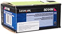 Lexmark 801HM - High Yield - magenta - original - toner cartridge LCCP, LRP - for Lexmark CX410de, CX410dte, CX410e, CX510de, CX510dhe, CX510dthe