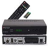 Opticum AX C100 HD DVB-C Digital Kabel Receiver (HDTV, DVB-C, HDMI, SCART, USB) schwarz
