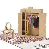 Fashion Wardrobe Pop Up Karte   Geburtstagskarten...